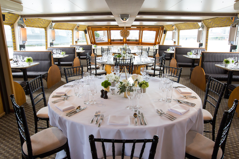 Enjoy London's NYE Fireworks on board the luxurious Silver Barracuda dinner cruise boat
