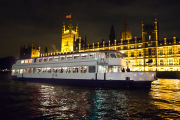 The Jewel of London party boat has one of the largest dance floors