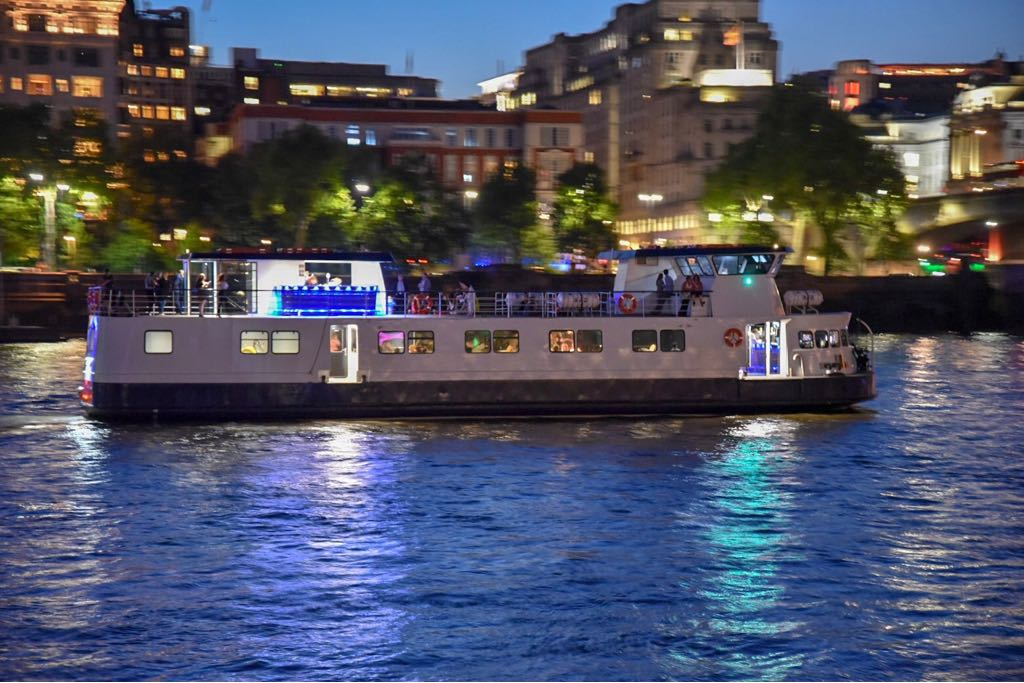 The Pearl of London is London's newest Thames party boat