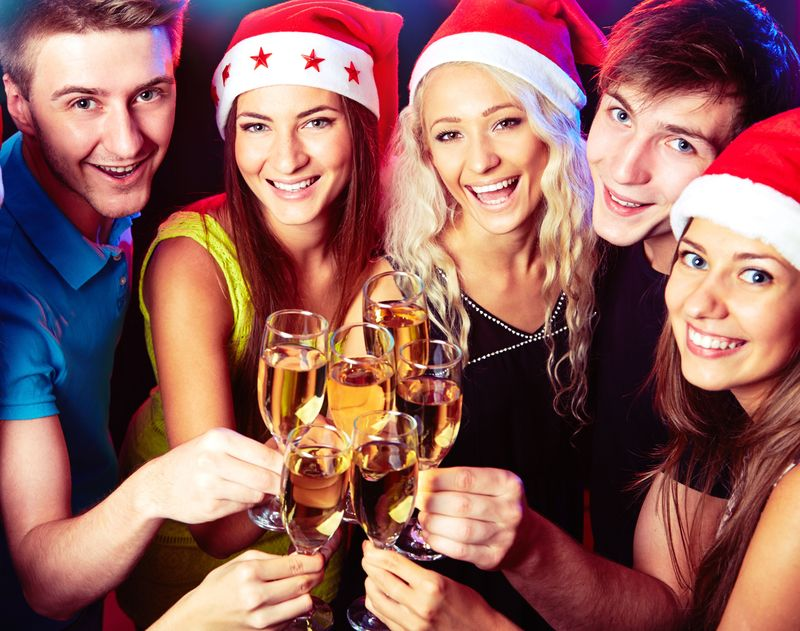 Great party atmosphere guaranteed on the Xmas Thames Party Cruise